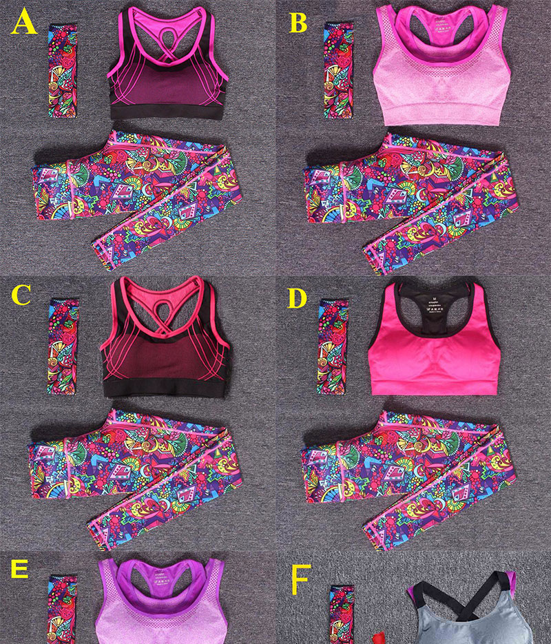 Women Yoga Fitness Sports Sets (1)