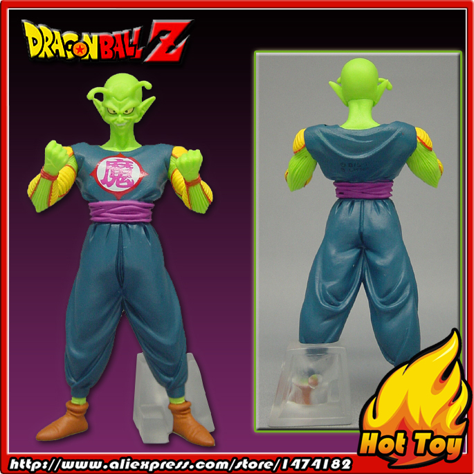 100% Original BANDAI Gashapon PVC Toy Figure HG Part 13 - King Piccolo Daimao from Japan Anime Dragon Ball Z sailor moon capsule communication instrument machine accessory gashapon figure anime toy full set 100