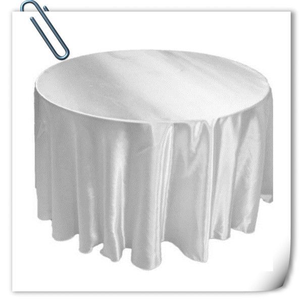 Retail cheap!!! Many Colors 90inch 10pcs Satin table cloth for weddings parties hotels r ...