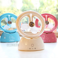 Creative USB Mini portable Handheld air conditioner chargeable Battery Handheld fan family office desktop student dormitory