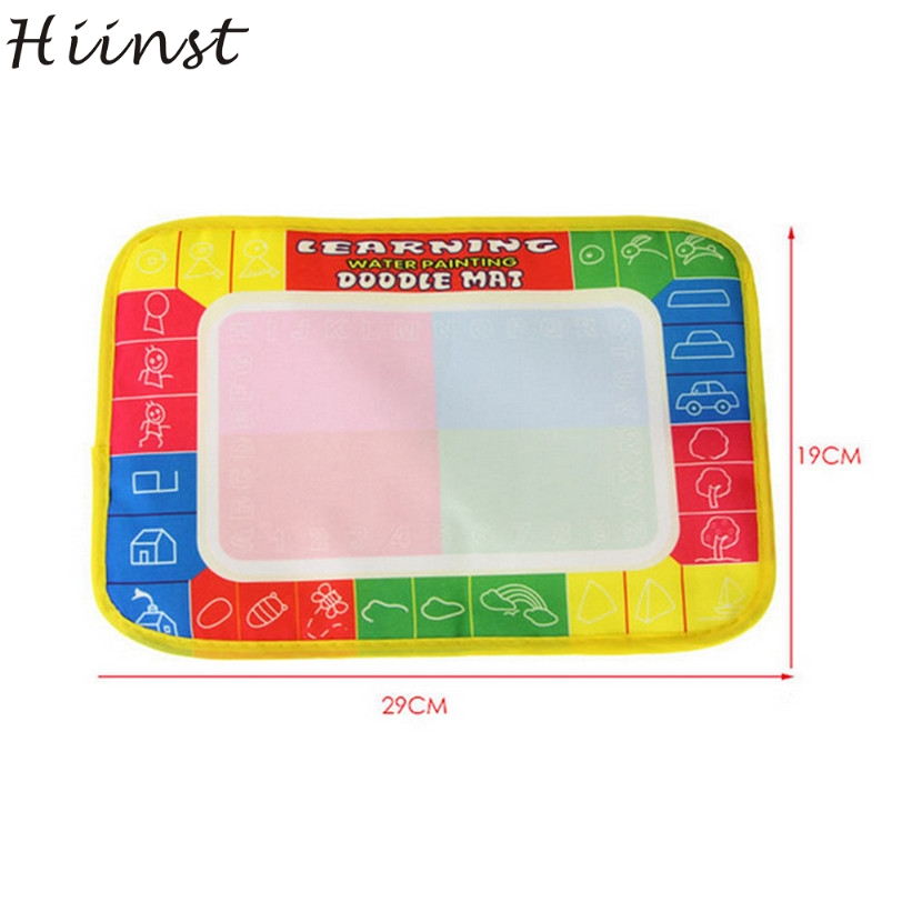 HIINST Best seller New Water Drawing Painting Writing Mat Board Magic Pen Doodle Toy Gift x cm OctA wholesale APR13