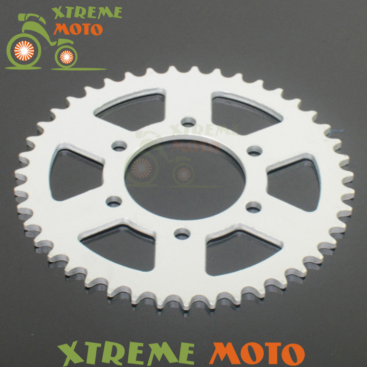 43T Rear Sprockets For Kawasaki Road ZX-6R ZX600 ZX636 Z750 ZX750 ZXR400 EX650 Z800 EN650 KLE650 Motocross Enduro Dirt Bike масляный фильтр для мотоциклов 1 kawasaki zx750 zx 750 750 1987 1990