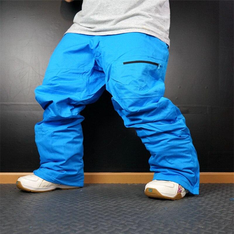 2018 Ski Pantalon Hommes Étanche Épaissir Snowboard Pantalon pour Montagne Ski Pantalon Super Chaud Respirant Neige Pantalon Mâle - 5