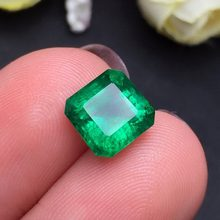 GRA Pakistan 2.7ct Gemstone Jewelry Faceted Vivid Green Natural Emerald Gemstones Loose Gemstones Loose Stone Gems(China)