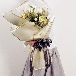 Flor de Papel de Embalaje Ramo Floristería Suministros Hechos A Mano Material de Bricolaje Papel de regalo Paquete de Regalo del festival 20 Hojas lot