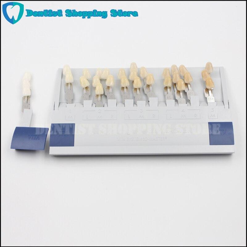 Original VITA Toothguide 3D Master Dental Guide Bleached Shade 29 Color Ceramic Teeth Guide DentureOriginal VITA Toothguide 3D Master Dental Guide Bleached Shade 29 Color Ceramic Teeth Guide Denture