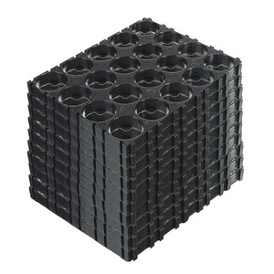 Image 2 - 10/20/30/40/50Pcs 4x5 Cell 18650 Batteries Spacer Holders Lightweight Durable Radiating Shell Plastic Bracket EM88