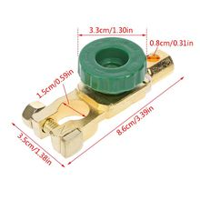 Car Battery Terminal Link Switch Quick Cut-off Disconnect Isolator Switch Car Truck Vehicle Parts Auto Accessories M77