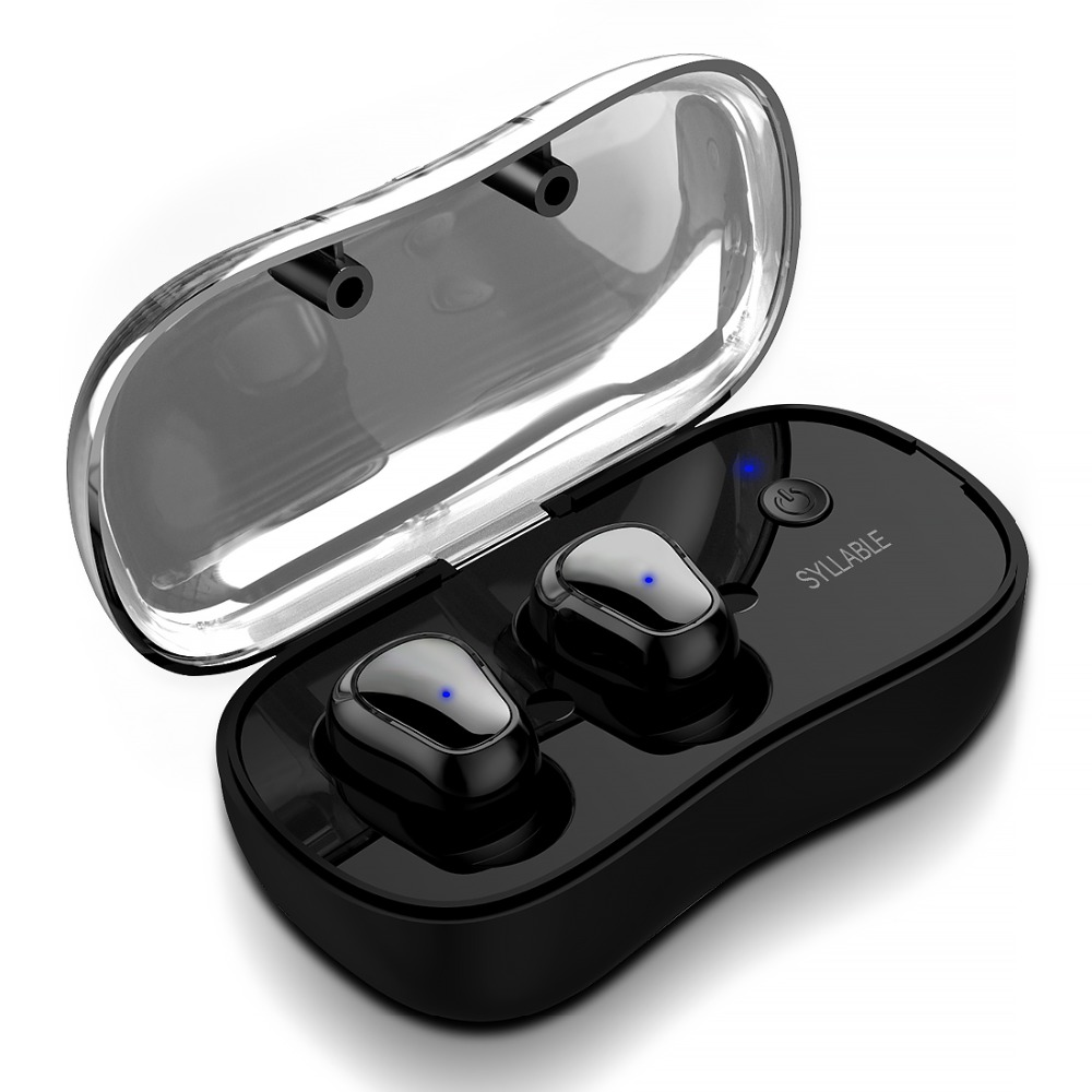 2018 New SYLLABLE D900P Bluetooth V5.0 TWS Earphone True Wireless Stereo Earbud Waterproof SYLLABLE Bluetooth Headset for Phone soonhua portable tws bluetooth hifi stereo earphone true wireless earbud waterproof hd communication headset handsfree for phone