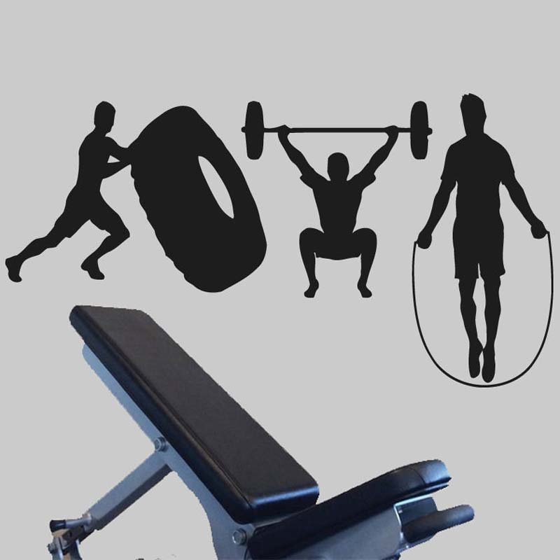 Aliexpress.com : buy crossfit athlete fitness removable decals