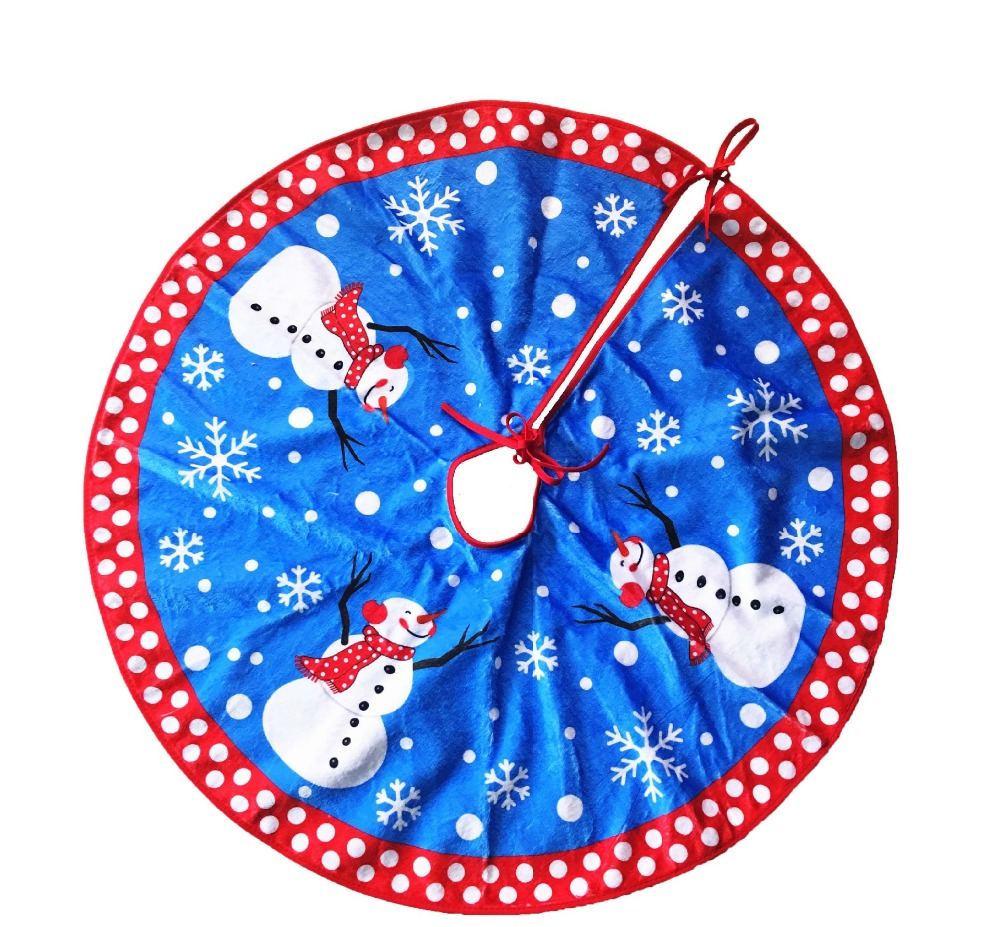 Popular Blue Tree Skirt Buy Cheap Blue Tree Skirt Lots From China  - Blue Christmas Tree Skirt