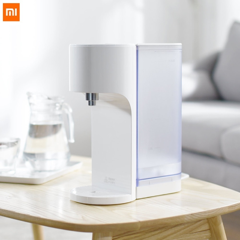 US $108.85 49% OFF|Xiaomi VIOMI APP Control 4L Smart Instant Hot Water  Dispenser Water Quality Indes Baby Milk Partner Heater Drinking Water  Kettle-in ...