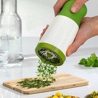 1p Gadget Kitchenware Plastic Spiral Vegetable Cutter Fruit Shred Device Ferramentas Mill For Garlic Cozinha Kitchen