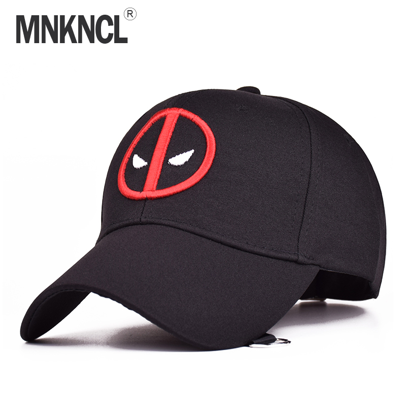 MNKNCL 2017 New Unisex 100% Cotton Outdoor Baseball Cap Deadpool Gorra Planas Embroidery Snapback Fashion Sports Hats new unisex 100% cotton outdoor baseball cap russian emblem embroidery snapback fashion sports hats for men