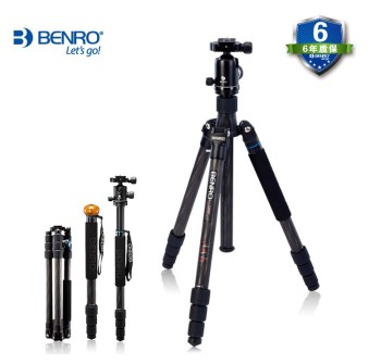 Benro C2682TV2 professional tripod head SLR Kit carbon fiber tripod portable reflexed