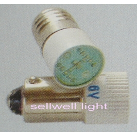LED bulb 6V E10/ba9s t10x24 A509 GOOD 10pcs sellwell lighting image