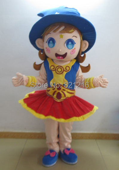 Betty girl mascots Cartoon mascot costume cartoon mascot adult for Halloween party event