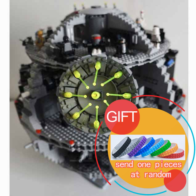 05035 3804pcs Star Series Wars Death Star Building Blocks Bricks Kits Compatible with 10188 Toys Children Gifts lepin new lepin 05035 star wars death star 3804pcs building block bricks toys kits compatible legoed with 10188 children educational