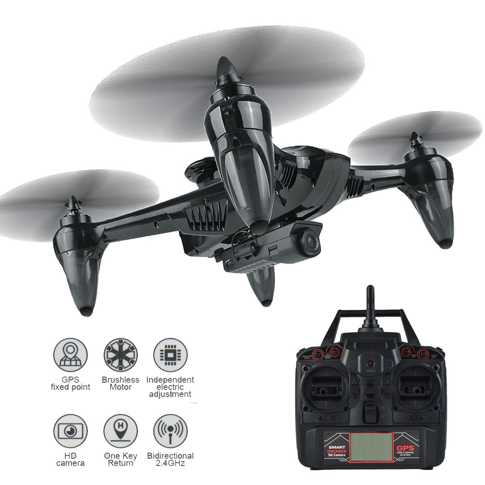 Professional Drone RC GPS Drone Four Axis Aircraft With Fixed Height 1080P WiFi Camera Quadrocopter RC Drone Model Toy VS F11 Professional Drone RC GPS Drone Four Axis Aircraft With Fixed Height 1080P WiFi Camera Quadrocopter RC Drone Model Toy VS F11