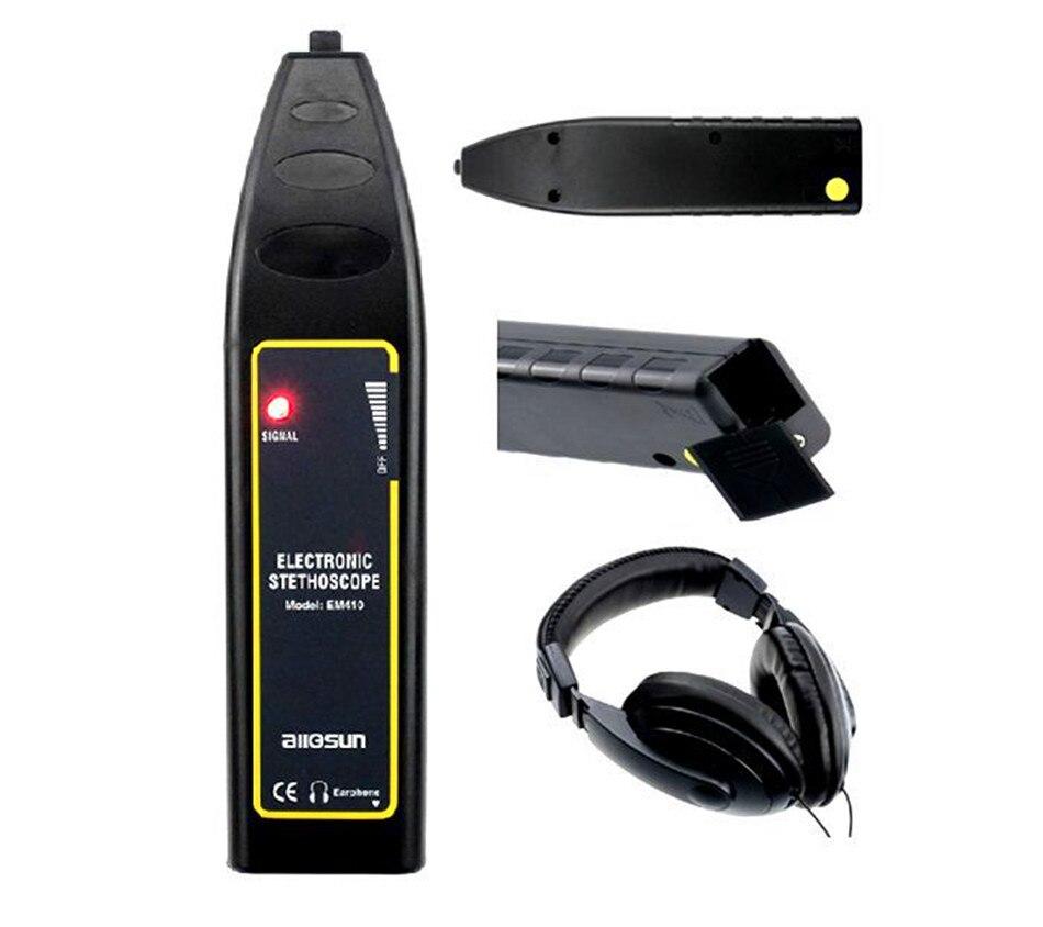Probe Noise Finder 100Hz~10kHz Automotive Noise Sensor finder High sensitivity Machine Noise Detector noise контроль сердца мобильным телефоном