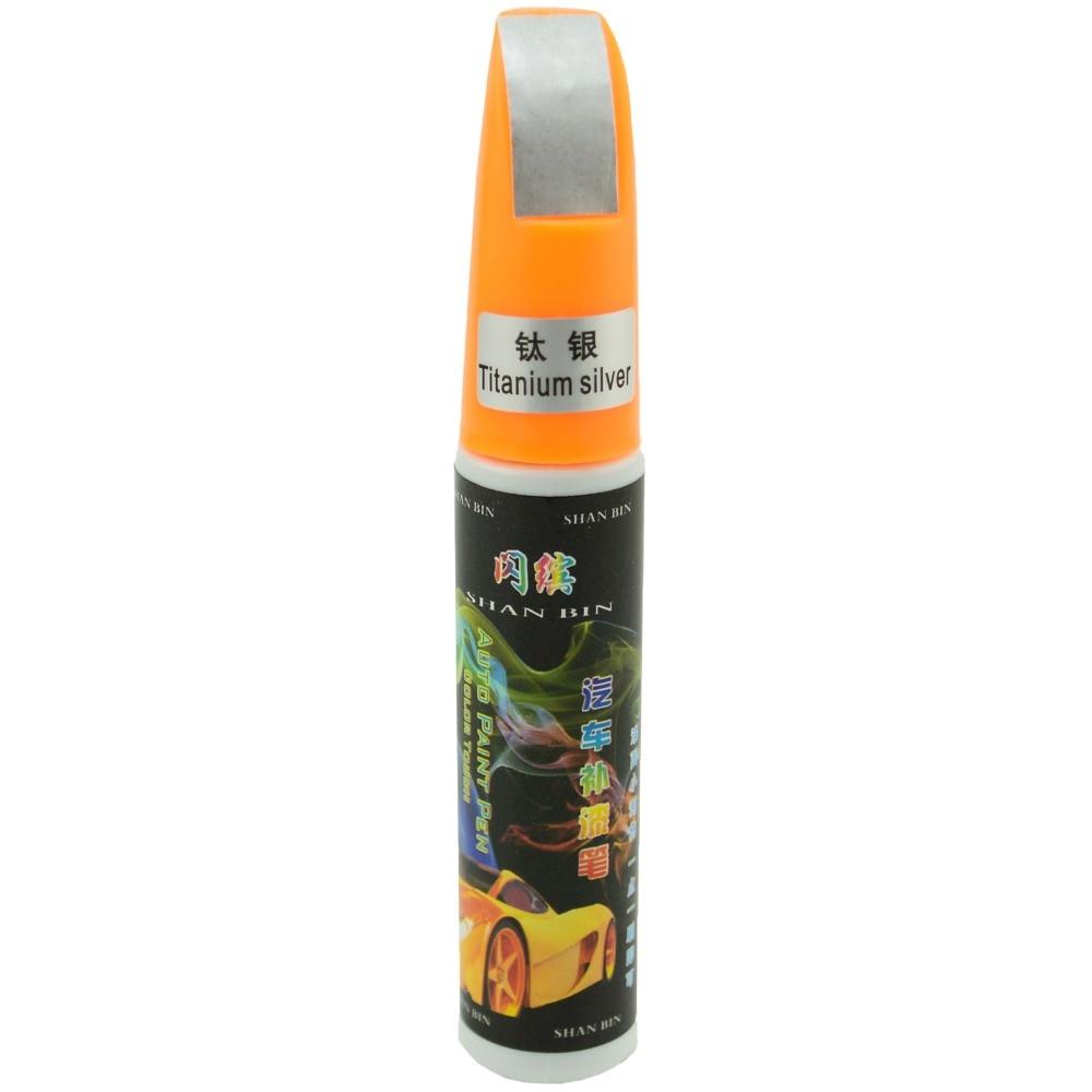 Car scratch repair remover pen scratch repair filler and sealer clear coat applicator universal titanium