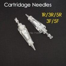 100pcs (Bayonet Port) Sterilized Permanent Makeup Machine Needles (1R/3R/5R/3F/5F Mixed)