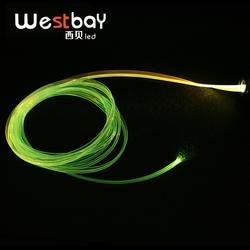 Westbay 3 Вт светодио дный волоконно-оптический свет двигателя комплект 3,0 мм крыло оптического волокна DC12V мини светодио дный