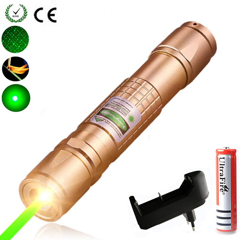 High Power Green Laser Pointer Hunting Lazer Red Dot Tactical Laser Sight Pen Firecrackers 10000m 5mW  Outdoor Long Distance