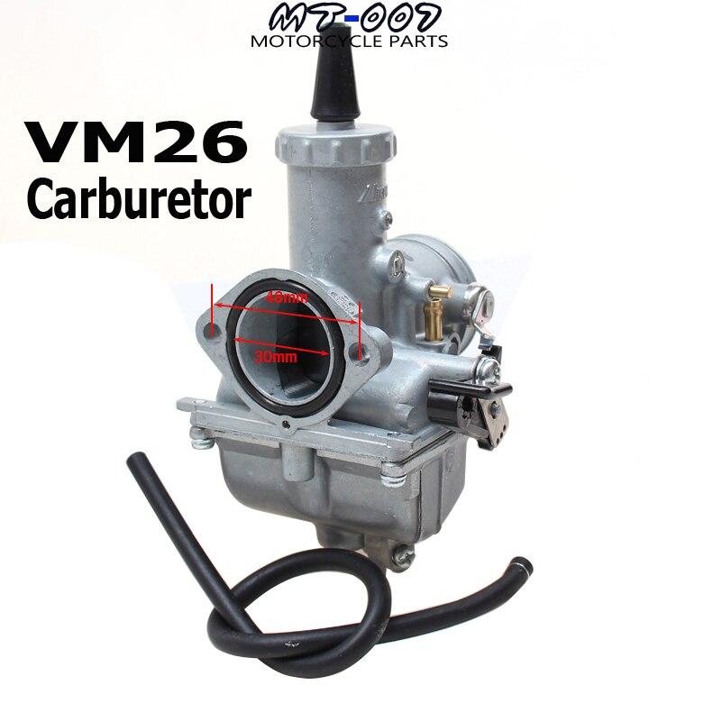VM26 30mm Carburetor High performance for Mikuni loncin zongshen lifan shineray 200cc 250cc dirt bikes ATV Quad mikuni hand choke vm26 30mm carburetor carb for motorcycle motocross dirt pit bike atv quad 200cc 250cc free shipping