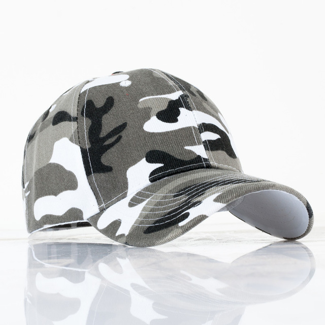 21217ef6812 2017 Unisex Army Camo Cap Camouflage Baseball Hats For Men Blank Desert  Camo Snapback Hat Camping Hiking Hunting CS Caps YY113