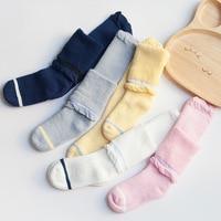Girl Kids Long Socks Autumn Children S Kids Knee Boots Toddler Knee High Socks With Flower