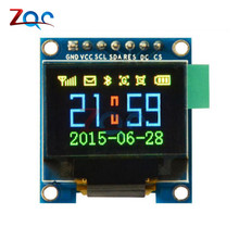 Big sale 0.95 Inch SPI Full Color OLED Display DIY Module 96×64 LCD For Arduino SSD1306 Driver IC Top Quality 0.95""