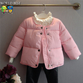 Girls Winter Coat Children Clothing Thickening Cotton Clothes Cotton-Padded Jacket Outerwear 2015 Hot Children's Winter Jackets