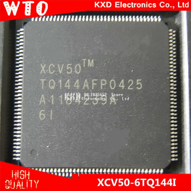 Бесплатная доставка XCV50 6TQ144I 6TQ144 QFP 144 2 шт./лот