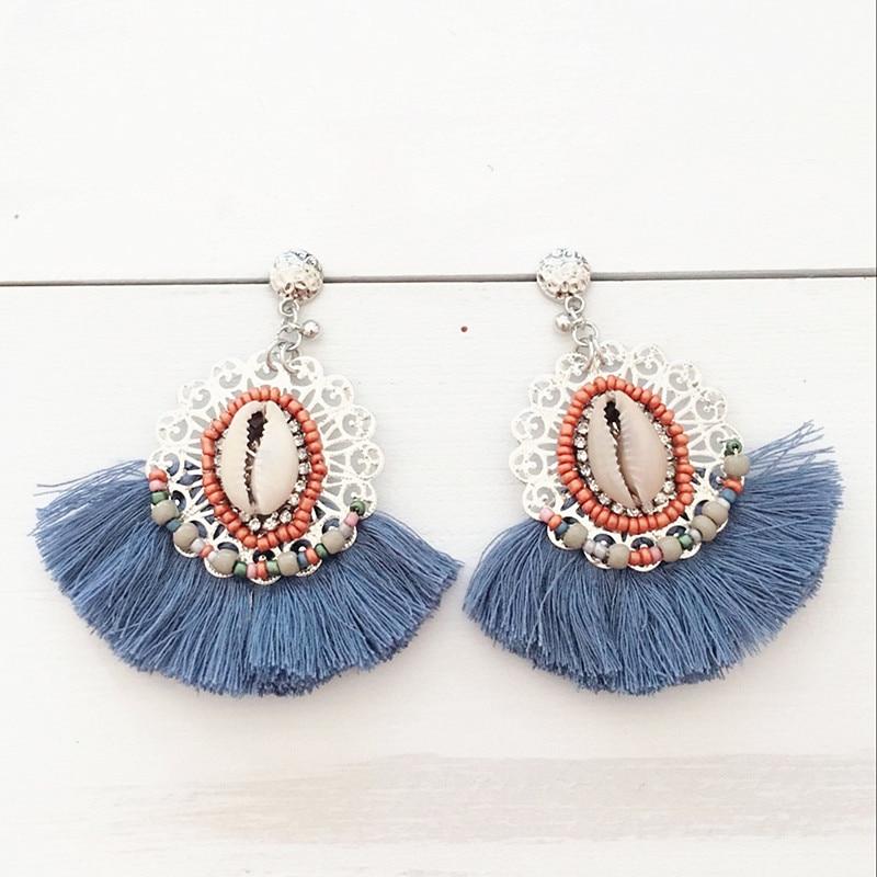 Dongmu jewellery 2017 new fashion party tassel earrings pend