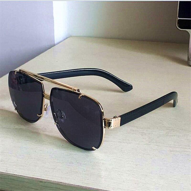 KAPELUS Sunglasses Men's New Metal Glasses Protect Against Ultraviolet Rays
