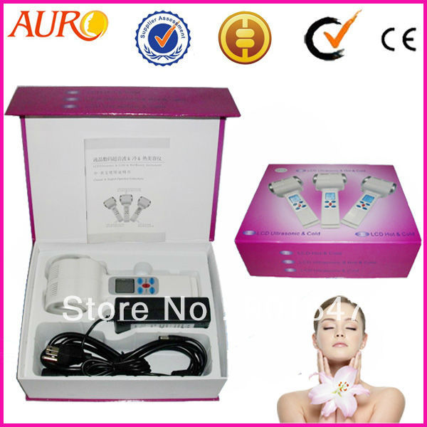 Free Shipping with 1 Year Guarantee Handheld Home Use Cold and Hot Hammer Facial Massage Machine For Women Gifts for Girlfriend цена