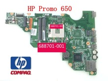 687701-501 687701-001 For HP cq58 650 HM75 Laptop Motherboard Mainboard System board 100% tested