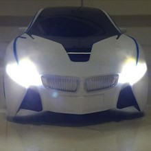 RC car concept sport car with led light abs material G sensor top quality best gift