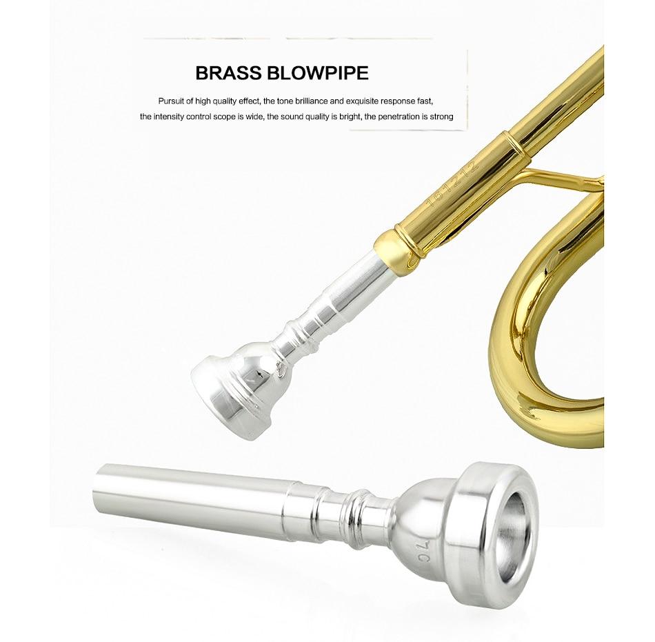 Bb trompete De Bronze Apartamento Requintado com
