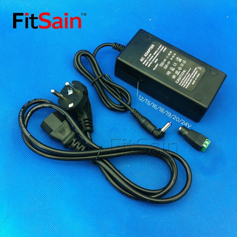 """""""FitSain-96W"""" maitinimo adapterio įėjimas AC110V ~ 240V išvestis DC12V / 16V / 18V / 19V / 20V / 22V / 24V 4 ~ 4,5A"""