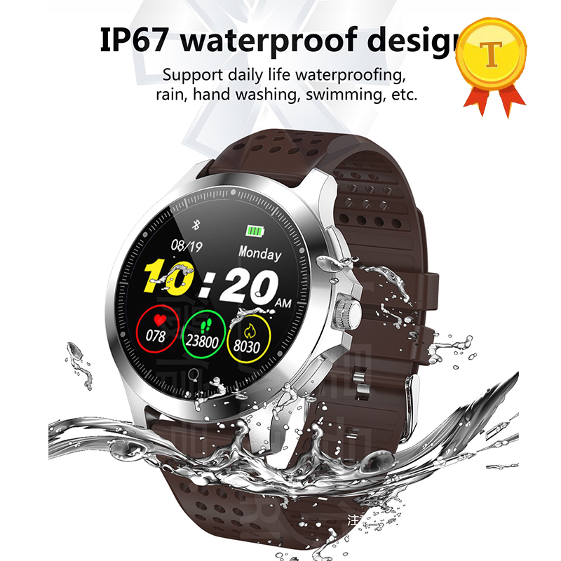 2019 newest version heart rate blood pressure waterproof swimming man wrist band PPG ECG smart bracelet