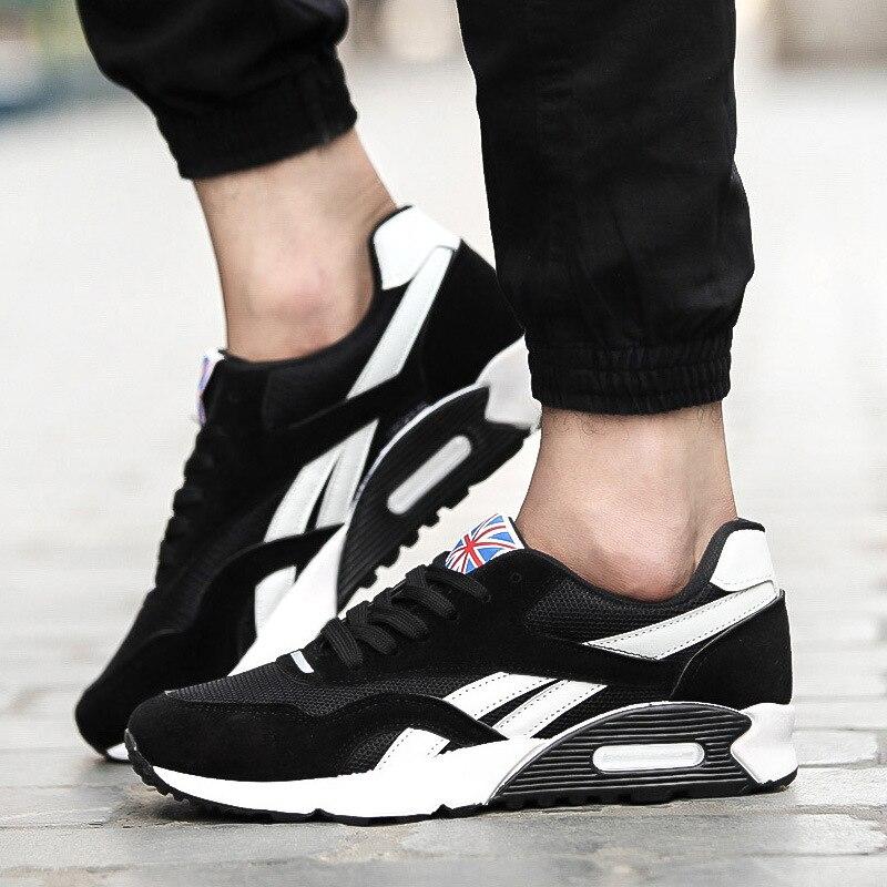 Nouvelle Version La Croisées Chaussures 24 Hommes Sangles noir 25 rouge Marée Coréenne De Printemps Royal 23 Respirant 2018 Étudiants Automne Casual bleu Et tYqxpwxS0