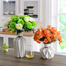 European-style creative ceramic vase dry flower arrangement sitting room table decoration floral apparatus for home