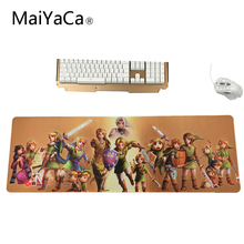 MaiYaCa The Legend of Zelda Mouse Pad pad Overlock Edge Big Gaming mouse Pad Send BoyFriend the Best Gift