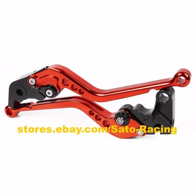 10 Colors For Suzuki GSF 600 S 250 BANDIT GS500 GS500E GS500F GSX400 Impulse CNC Motorcycle Short/ Long Clutch Brake Levers Hot