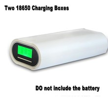 Kanavano Battery Charger and Smart Power 2 Slots USB Dual For 18650 18350 16340 14500 10440 Charging 3.7V Rechargeable Li-Ion