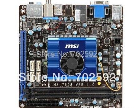 Original Mini-ITX motherboard E350IA-E45 BARZOS e350 APU on board dual core and USB 3.0