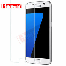 For Samsung Galaxy S7 S6 Tempered Glass Guard Film 9H 0.26mm Ultra Real Premium Screen Protector For Samsung Galaxy S2 S3 S4 S5