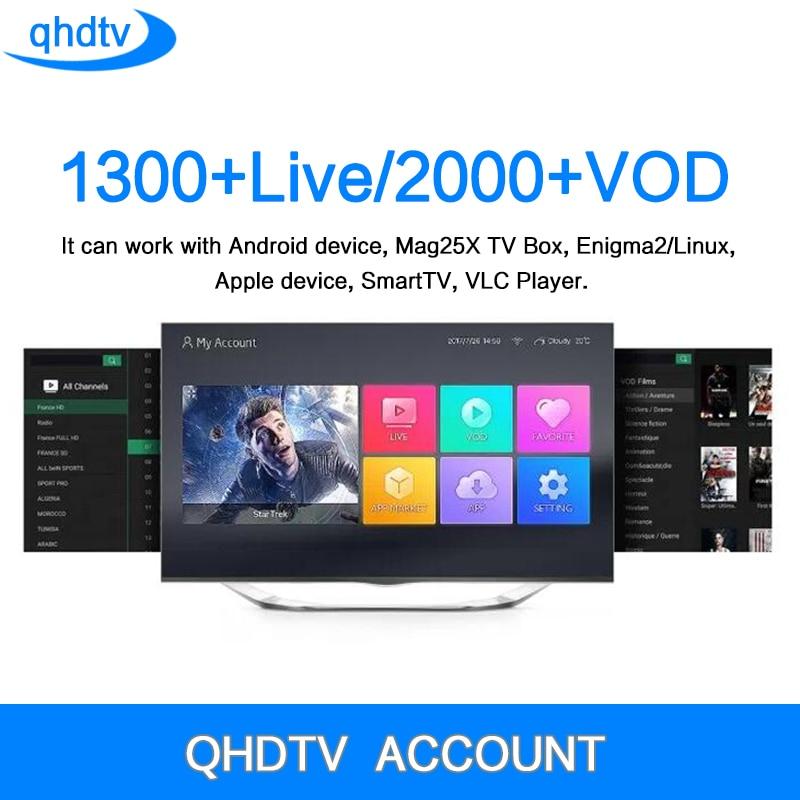 Iptv Italia Leadcool Qhdtv 1 jahr Iptv Abonnement 1300 Live Kanäle Android 7.1 Smart TV Iptv Französisch Arabisch Pro Iptv